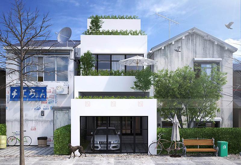 Nhà 2 tầng mặt phố - Hải Phòng