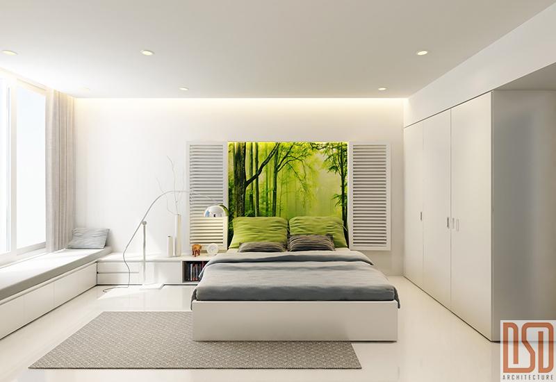 Thiết kế, thi công & cung cấp nội thất Phòng ngủ - CĐT Mr Vũ Anh
