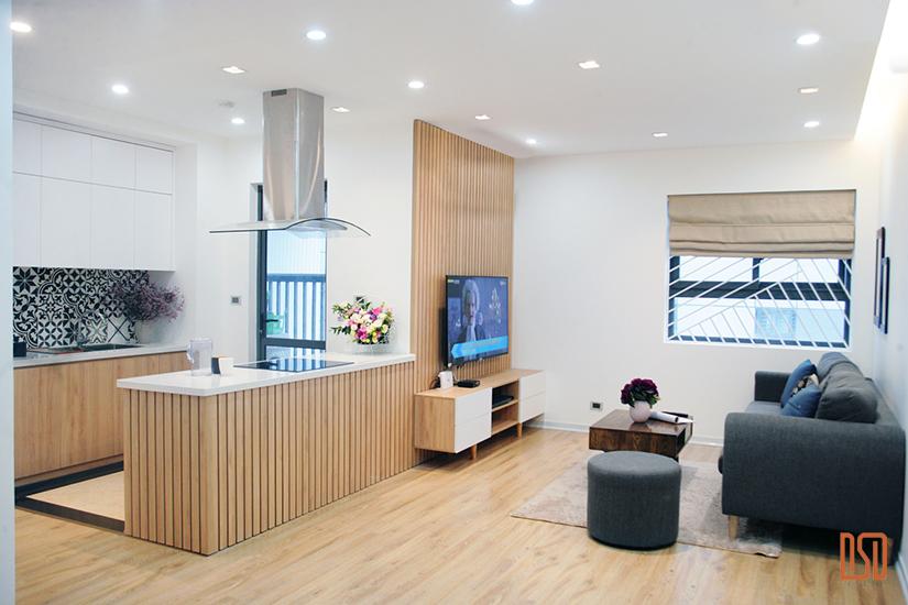 Thiết kế -Thi công & cung cấp đồ nội thất - Chung cư Rice City