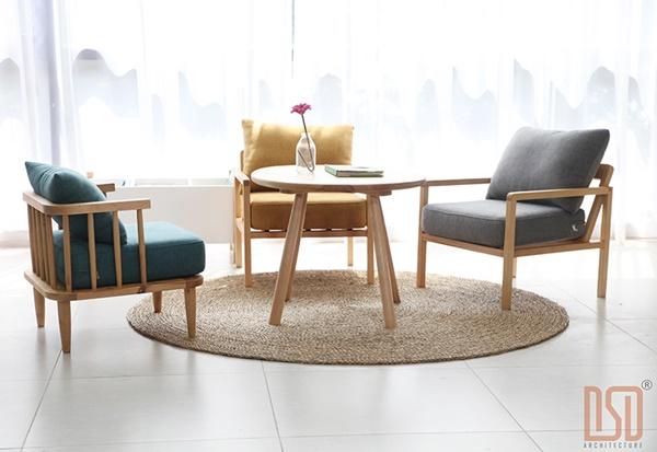 Ghế sofa cho bé tại Hà Nội kiểu dáng khỏe khoắn, phá cách từ gỗ tự nhiên cao cấp