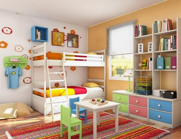5 mẹo thiết kế phòng riêng cho bé khi nhà chật