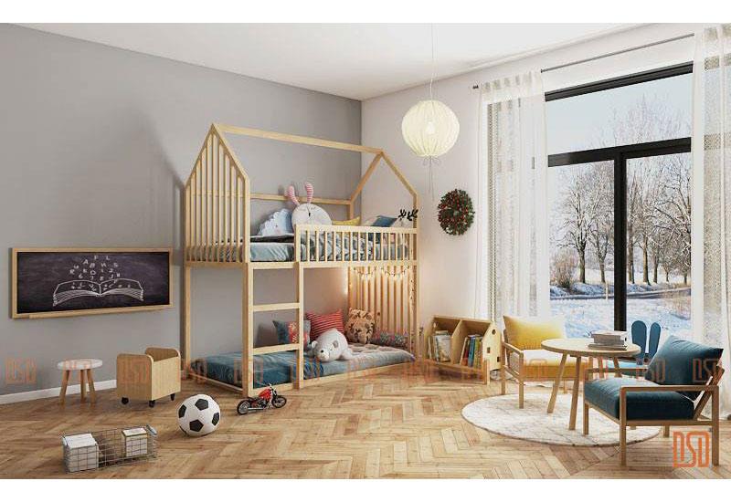 Thiết kế nội thất trẻ em tại Hà Nội - nuôi dưỡng đam mê cho con