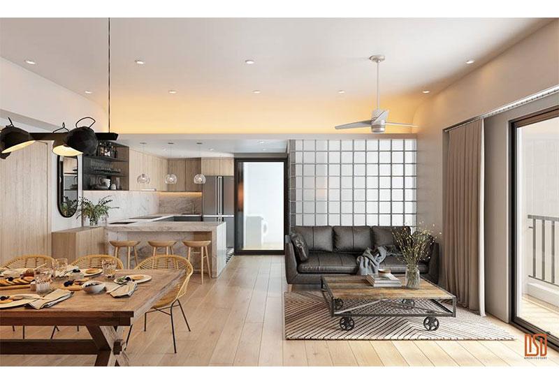 Top 7 mẫu thiết kế nội thất chung cư đẹp 2019
