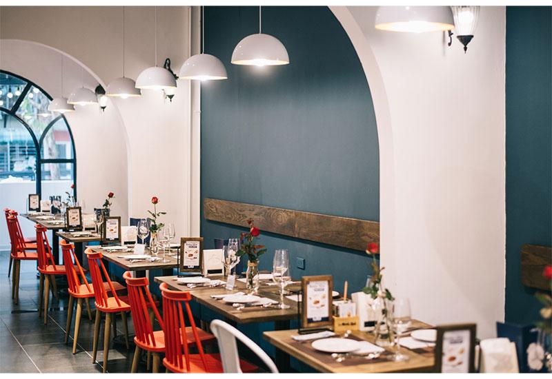 Thiết kế kiến trúc hệ thống chuỗi nhà hàng Le Monde steak