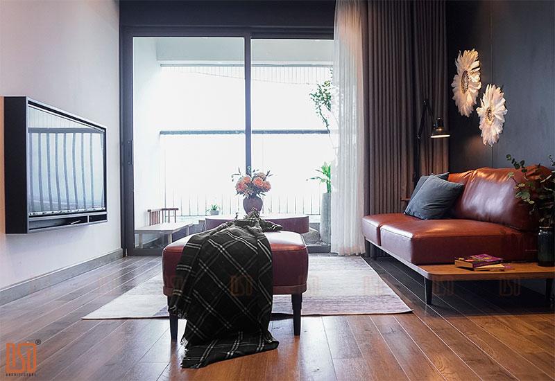 Thiết kế - Thi công công trình chung cư Gamuda 3 ngủ Mr. Dương