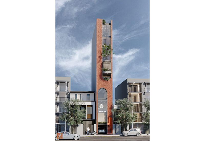 Thiết kế kiến trúc nhà phố - Mr. Trí
