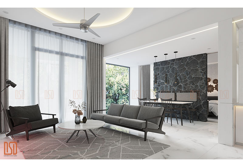Thiết kế kiến trúc resort Ivory Lâm Sơn