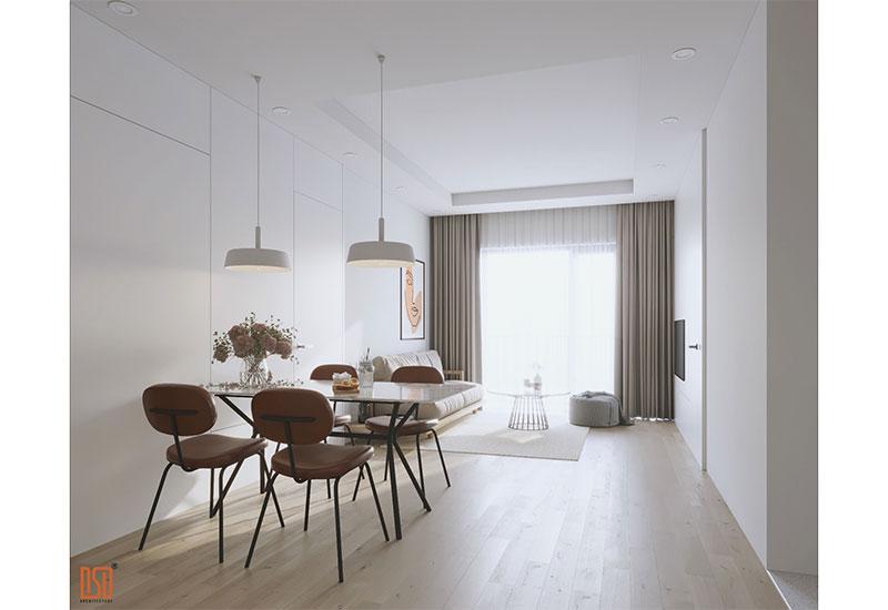 Thiết kế nội thất chung cư 71m2 Gamuda Garden - CĐT Mrs. Dung
