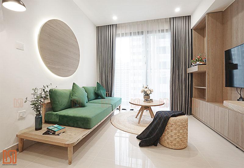 Thiết kế - Thi công nội thất chung cư Vinhomes Oceanpark 68m2 - Mrs. Hà