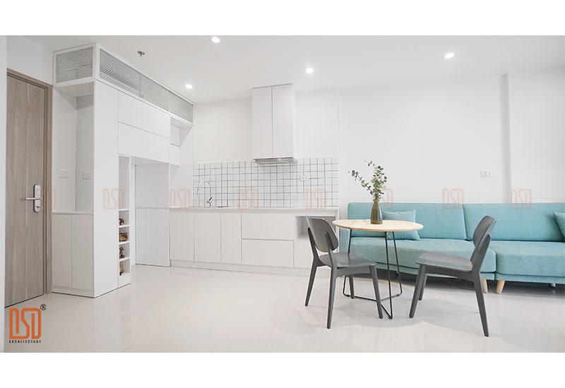 Thiết kế - Thi công nội thất chung cư Vinhomes OceanPark 1 ngủ 49m2