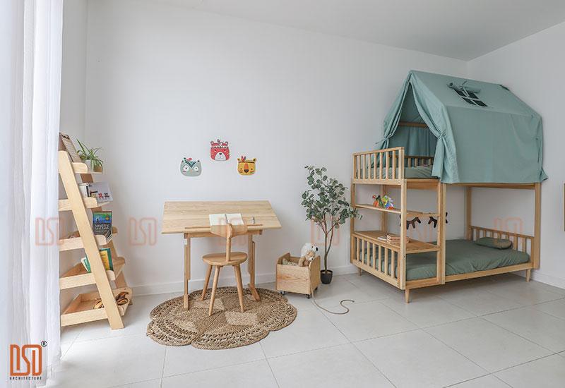 Cách thiết kế phòng ngủ trẻ em hiện đại - Phần 2: Lựa chọn nội thất