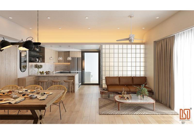 4 đặc điểm nổi bật của phong cách thiết kế nội thất hiện đại