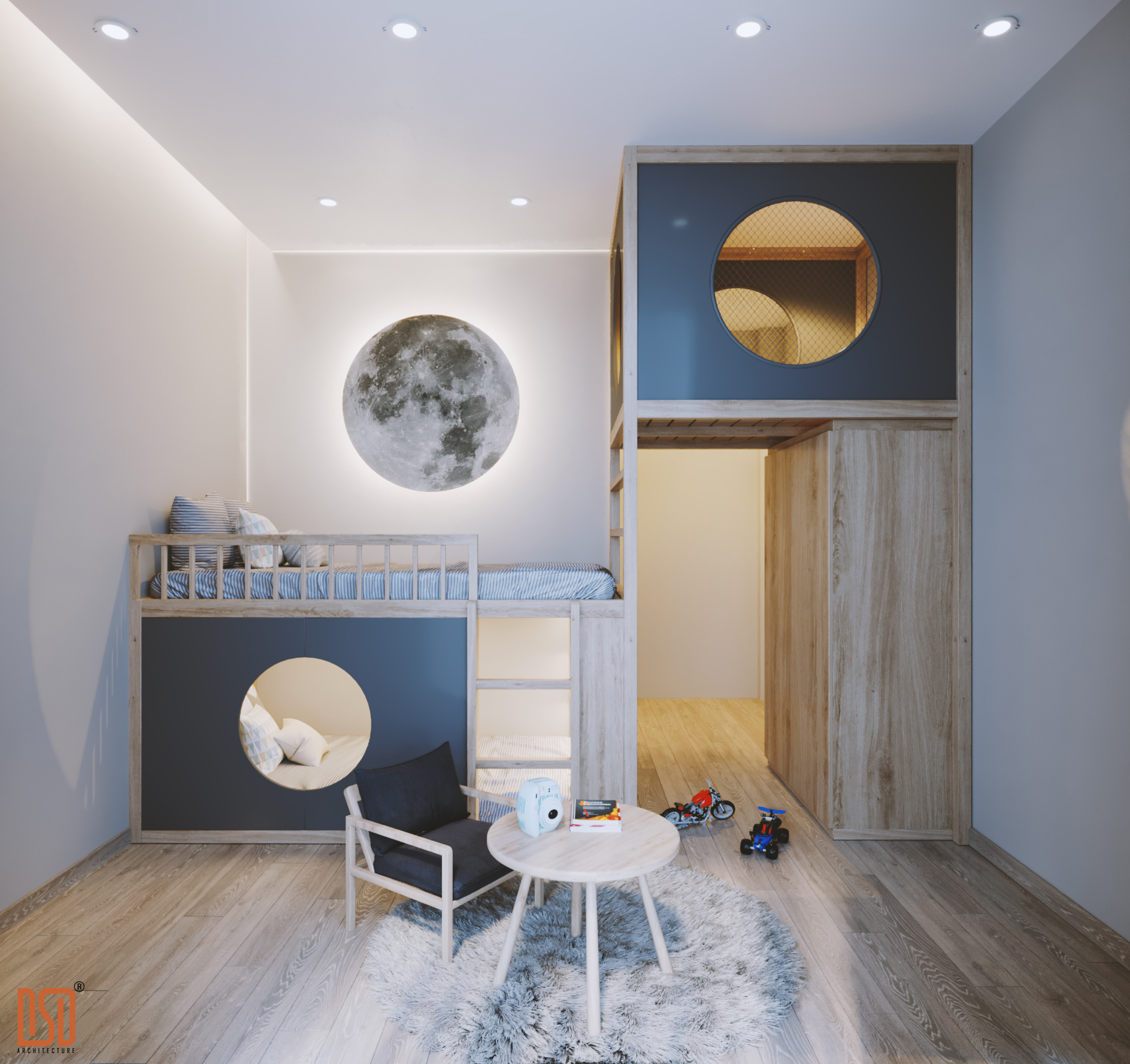 4 món đồ thiết yếu trong thiết kế nội thất phòng trẻ em mà cha mẹ nên chú ý chọn lựa