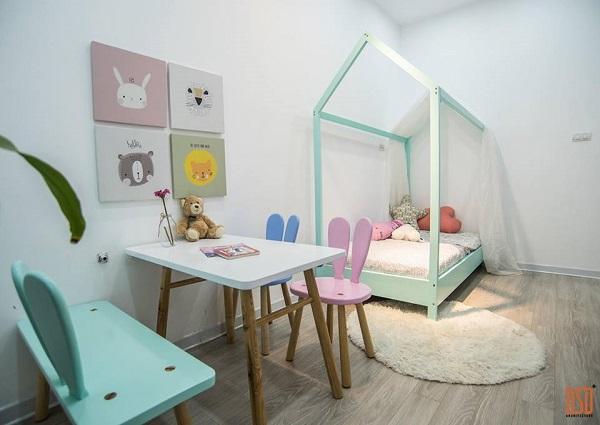 """Thiết kế nội thất phòng trẻ em tại Hà Nội - Hãy thay đổi ngay suy nghĩ """"phòng khách trang hoàng, phòng con đơn giản"""""""